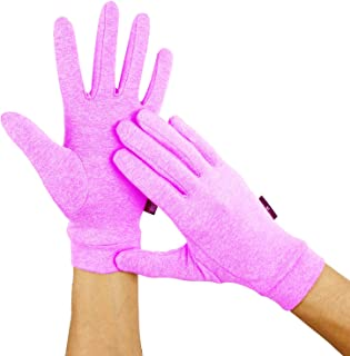 Arthritis Gloves by Duerer, Compression Gloves for RSI, Carpal Tunnel, Rheumatiod, Tendonitis, Full Finger, Small Medium Large XL for Pain Relief (Full Finger Purple, S)