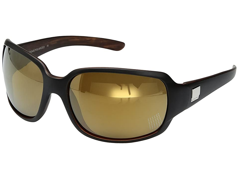 2aed7e430d SunCloud Polarized Optics Cookie (Matte Black Backpaint Polarized Sienna Mirror  Polycarbonate Lens) Sport
