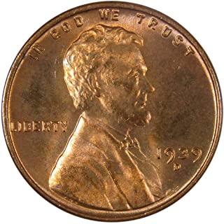 1939 D 1c Lincoln Wheat Cent Penny US Coin Uncirculated Mint State