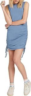 Volcom Women's Chinch You were Gone Fitter Muscle Tank Mini Dress