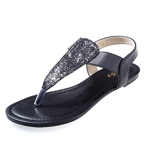 e804f0428f2e9 ZriEy Women s Gladiator Flat Sandals