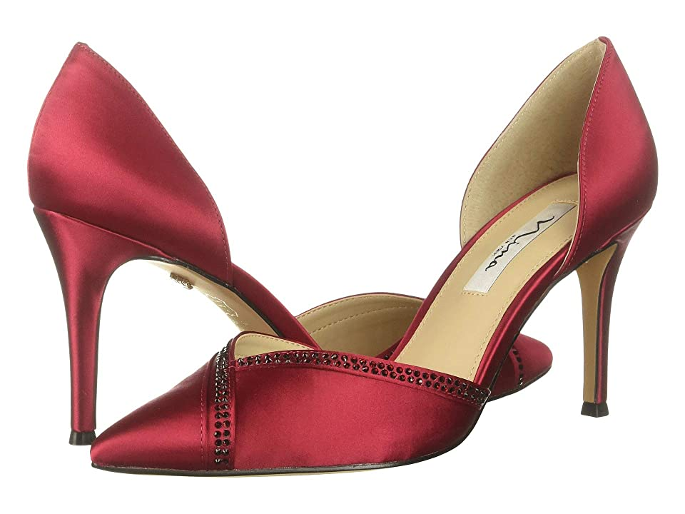Nina Diora (Crimson Satin) High Heels
