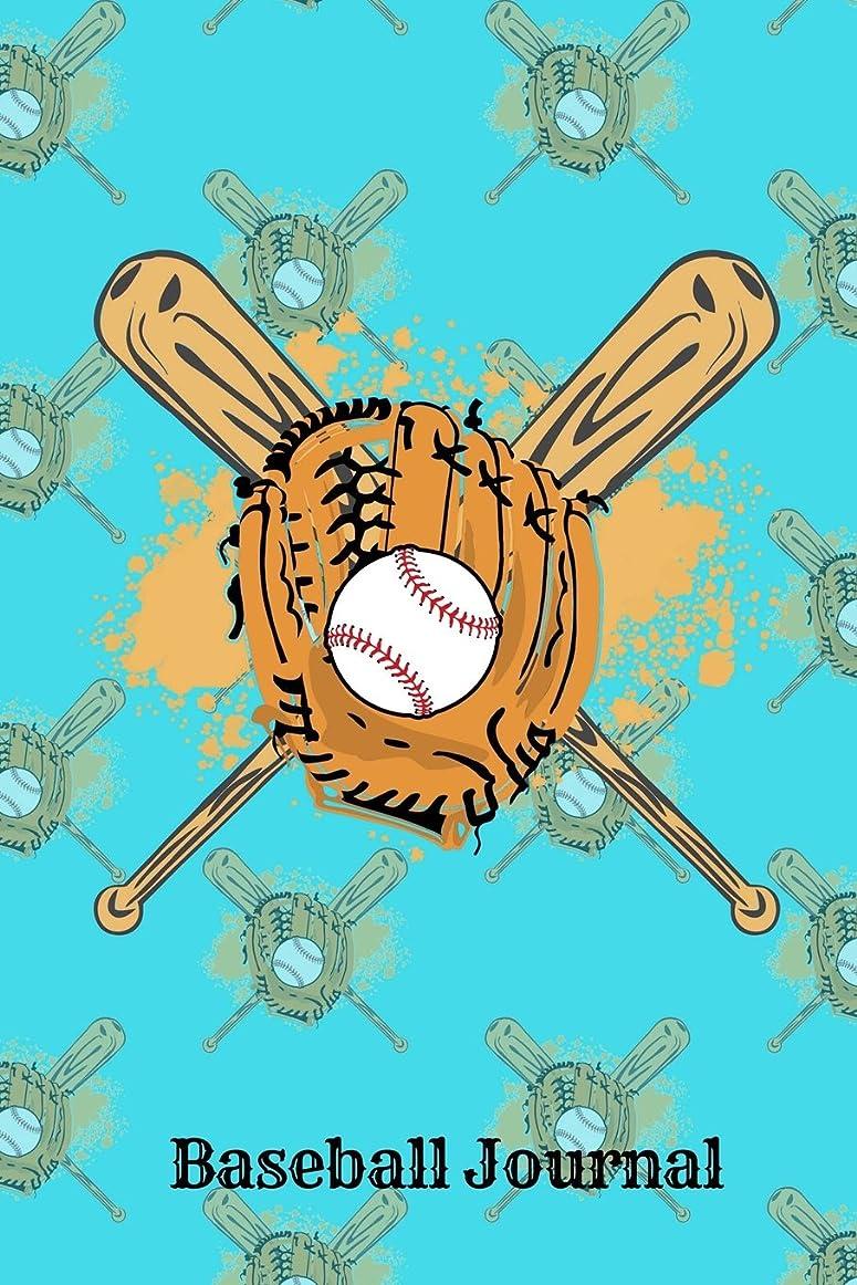 帳面記念展示会Baseball Journal: Art Sketchbook Journal, Notebook 100 Blank Numbered Pages (6