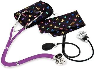 NCD Medical/Prestige Medical A2-DCS - Juego de tensiómetro de brazo y estetoscopio tipo Sprague-Rappaport