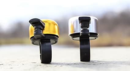 sonnette universelle pour adultes et enfants Lot de 2 sonnettes de v/élo classique en alliage daluminium pour la plupart des v/élos