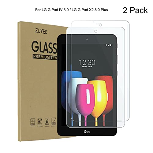 Tempered Glass Screen Protector For LG G Pad IV 8.0 FHD LET,LG G Pad X2 8.0 Plus