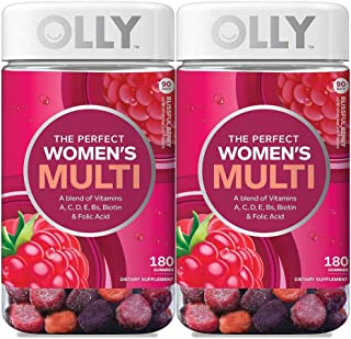 Olly Women's Multi, Berry (180 ct.) (Pack of 2)