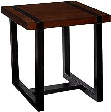 Simmons Casegoods End Table, Warm Oak Charcoal