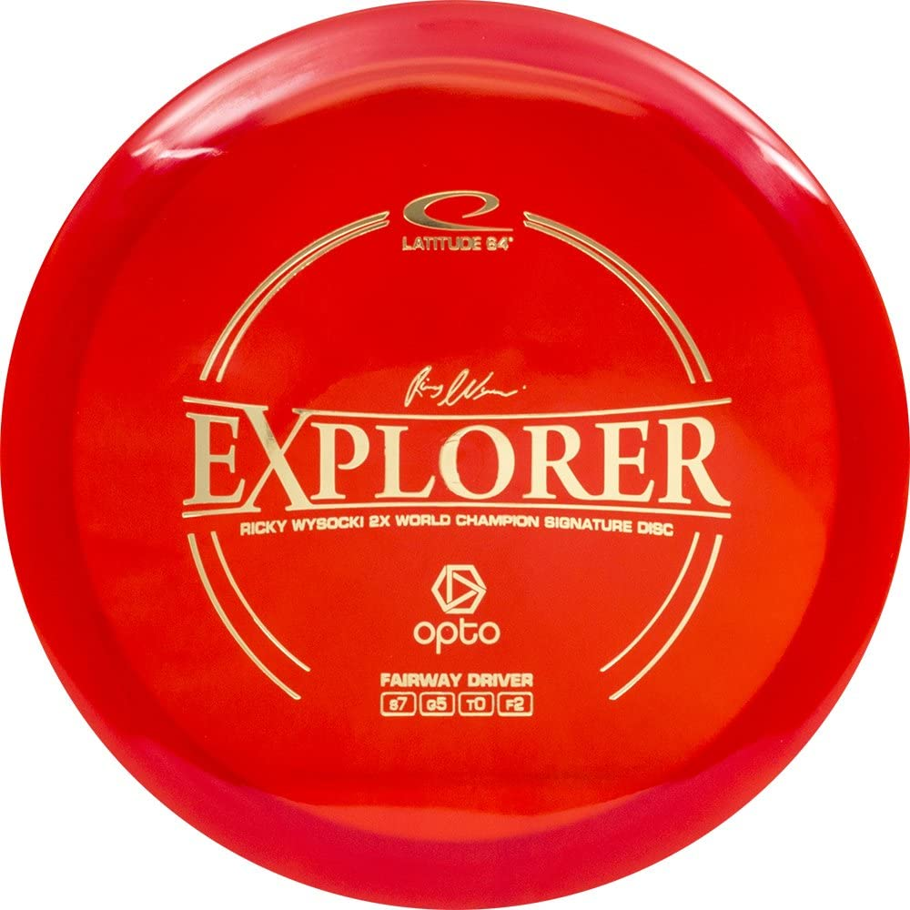 Latitude 64 Opto Line Explorer Driver Fairway Golf Disc Colors Long All stores are sold Beach Mall