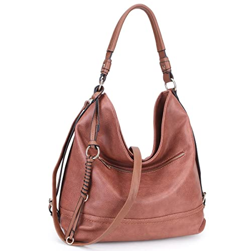 0b48202a24 DASEIN Women Casual Hobo Shoulder Bag Soft Washed Vintage Handbags Tote  Purses