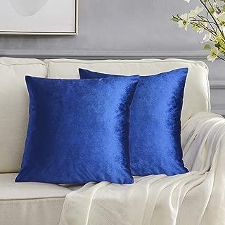 Best royal blue velvet cushion Reviews