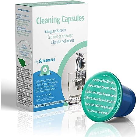 Gourmesso Capsules détartrantes (10 capsules) - Capsules nettoyantes pour machine Nespresso ®*