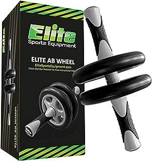 comprar comparacion Elite Sportz Equipment AB Wheel – AB Roller de Rueda Dual - Entrenamiento Fluido – Viene Ensamblada, Resistente y Muy Dura...