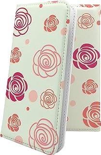 G2 mini LG-D620J / G2 L-01F / for BIGLOBE マルチタイプ マルチ対応ケース ケース 手帳型 花柄 花 フラワー 薔薇 バラ ローズ エルジー ミニ ビッグローブ ビグローブ ジー2 和柄 和風 日本 ja...