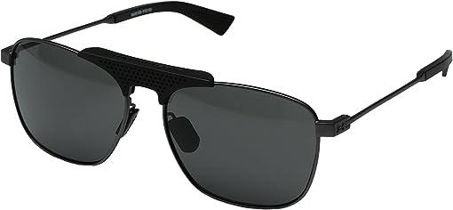 Satin Gunmetal/Black Frame/Gray Lens