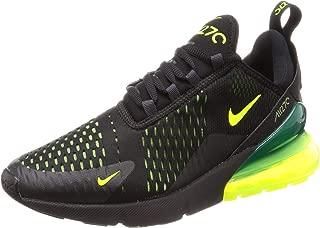 Nike Mens Air Max 270 Running Shoes (10.5, Black/Volt/Black/Oil Grey)