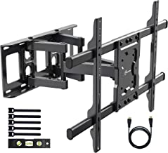 $36 » EVERVIEW TV Wall Mount Bracket fits to most 37-70 inch LED,LCD,OLED Flat Panel TVs, Tilt Full motion Swivel Dual Articulating Arms, bring perfect viewing angle, Max VESA 600X400, 132lbs Loading