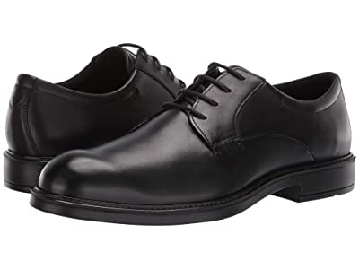 ECCO Vitrus III Plain Toe Tie (Black) Men