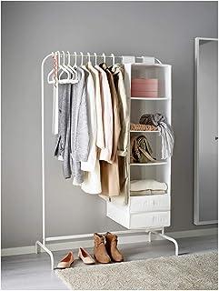 comprar comparacion IKEA MULIG Burro para ropa, blanco, 99x46 cm - 601.794.34