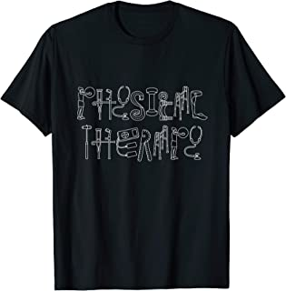 PT Art - PTA and PT Month Gift for Physical Therapy T-Shirt