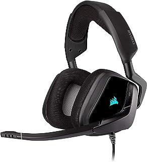 Corsair Void Elite RGB USB Gaming Headset, 7.1 Surround Sound, Optimised Omnidirection Microphone, Customisable RGB Lighti...