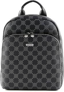 Picard, Rucksack aus Synthetik, Rucksack mit Lederoptik in der Farbe Schwarz, Verstellbarer Gurt, Reißverschluss 98423M6001
