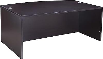 amazon com bush business furniture studio c 72w x 36d bow front rh amazon com