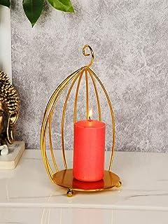 CraftVatika Tealight Candle Holders for Home Decoration Tea Light Candle Holder Stand for Dining Living Room Bedroom Garde...