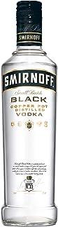 Smirnoff Black No. 55 Vodka, 6er, Wodka, Alkohol, Alkoholgetränk, Flasche, 40%, 500 ml, 715105