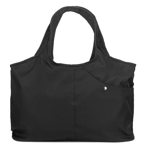 ZOOEASS Women Fashion Large Tote Shoulder Handbag Waterproof Tote Bag  Multi-function Nylon Travel Shoulder 1ba368e8ad214