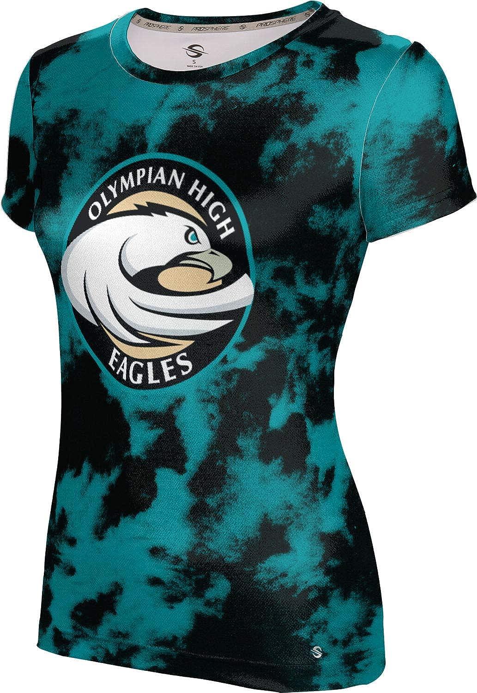 ProSphere Olympian High School Girls' Performance T-Shirt (Grunge)