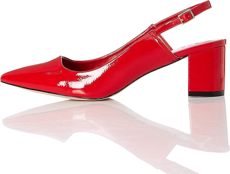 Find. Amazon Brand Women's Slingback Pump with Block Heel