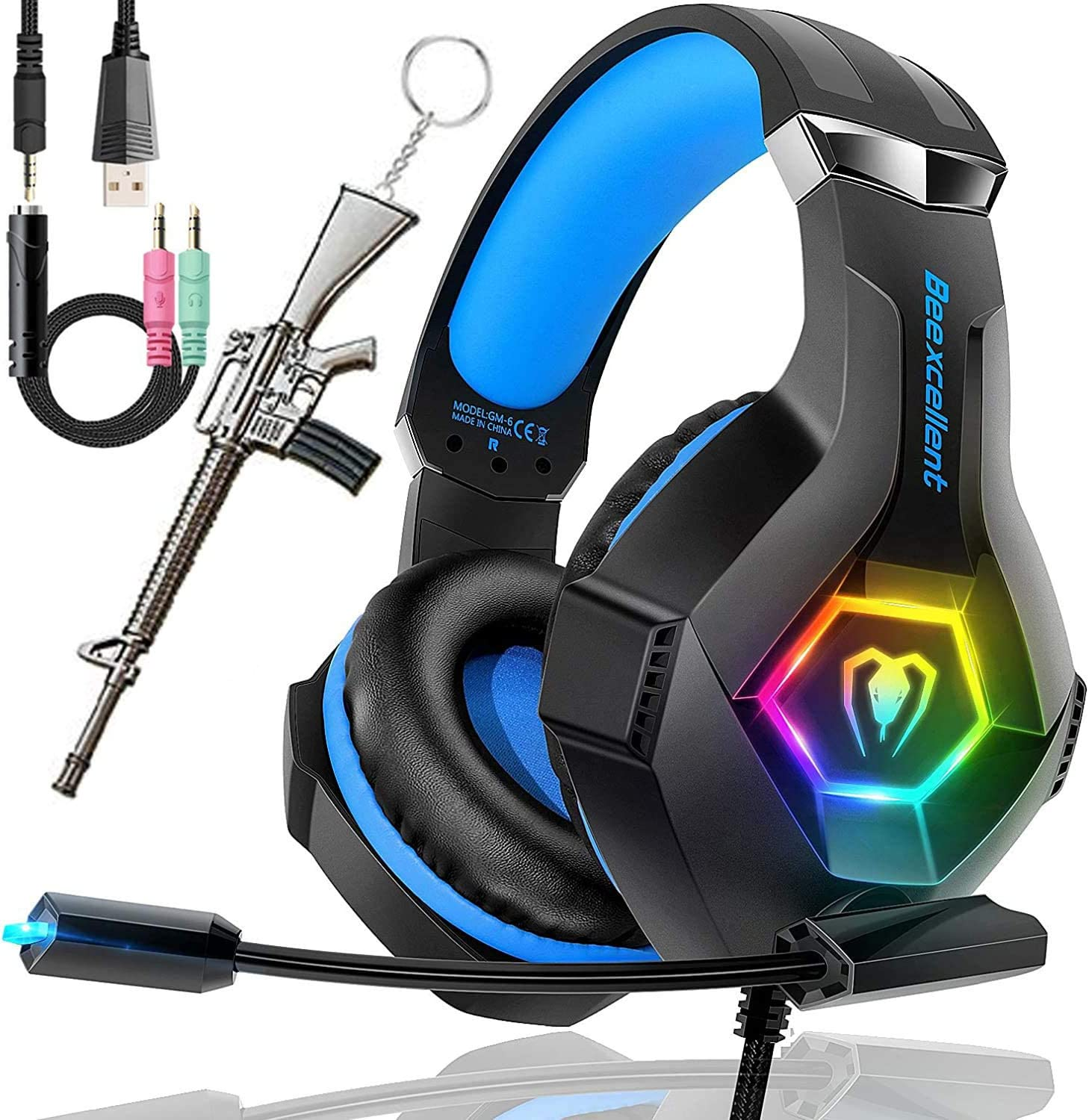 SVYHUOK PS4 Max 50% OFF Gaming Headset with Max 84% OFF Lightwei 2019 Latest Stereo Mic
