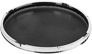 $20 » Car Audio Speaker Protector Cover, Electroplating and Black Iron Mesh Car Speaker Grill for Car Shop(Four)