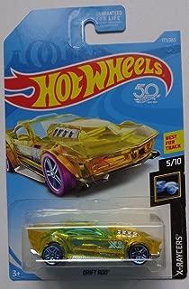 Hot Wheels 2018 X-Raycers 5/10 - Drift Rod (Yellow)