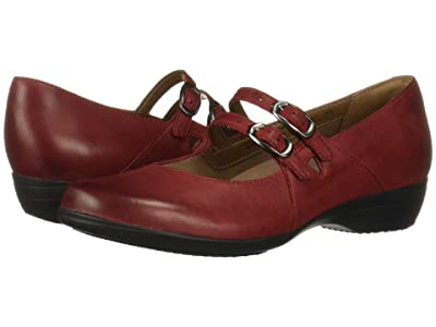 Dansko Fynn (Red Burnished Nubuck) Women