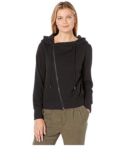 Skinnygirl Courtney Moto Knit Jacket (Black) Women