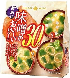 ひかり味噌 味噌がおいしいおみそ汁合わせ 30食