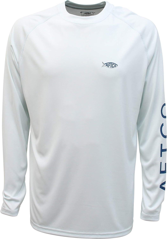 AFTCO Price reduction Samurai Spasm price Performance Long Sleeve Large - Shirt Vapor