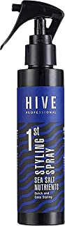 ADP HIVE PROFESSIONAL 1st Hair Styling Sea Salt Spray Nutrients Hair Texturizing Volumizing Beach Look Natural Curly Sexy ...