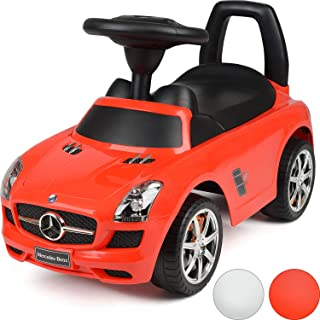 Dorsa Kids Ride On Mercedes Benz Car With Sound Effects Licensed Red, 332 D