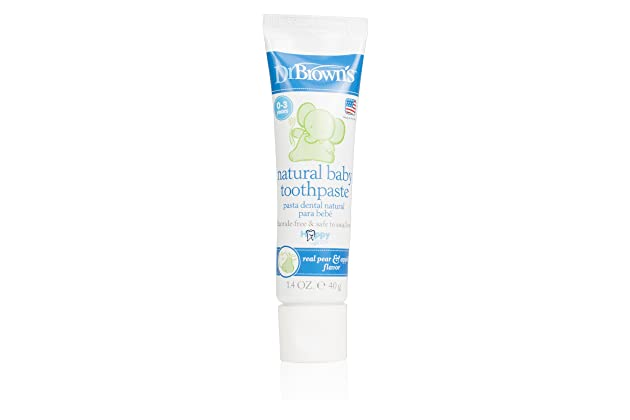Dr. Browns Natural Baby Toothpaste, 1.4 Ounce