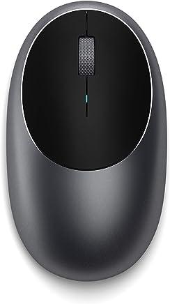 SATECHI Mouse M1 Wireless Bluetooth con Porta Tipo-C Ricaricabile – Compatibile con Mac Mini, iMac, iMac PRO, MacBook PRO/Air, Microsoft Surface Go, Computer Portatili, Computer (Grigio siderale) - Trova i prezzi più bassi