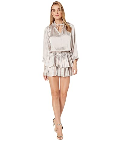 Bishop + Young Dom Mini Dress (Silver) Women