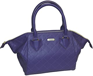 Buxton Double Diamond Quilted Satchel Shoulder Handbag