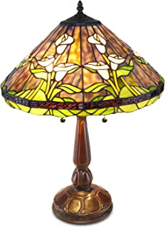 Tiffany Style Calla Lilly Table Lamp