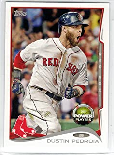 Baseball 2014 Topps Power Play Code Cards #PP-69 Dustin Pedroia NM-MT+ Red Sox