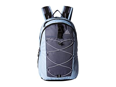 adidas Ultimate ID Backpack (Glow Blue/Tech Ink Grey/White/Black) Bags