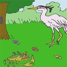 Heron, Snake and Mongoose