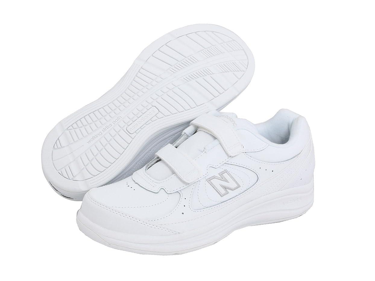 味方楕円形ホールドオールレディースウォーキングシューズ?靴 WW577 Hook and Loop White 7 (24cm) B - Medium [並行輸入品]